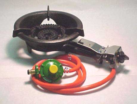 The 10/20 Dual Output Gas Burner - Ideal as an extra burner for